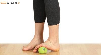 حرکات کششی برای جلوگیری از درد پا