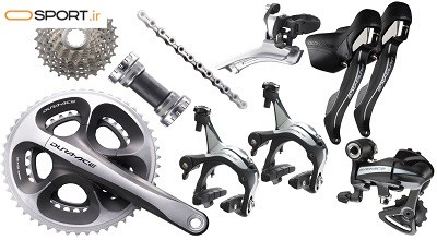 کدهای قطعات دوچرخه شیمانو (Shimano) به چه معنی است؟