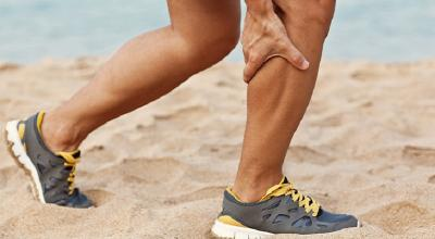 گرفتگی عضلات پا و راه های پیشگیری