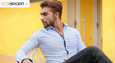 آرش ساغری ورزشکار و مدل ایرانی