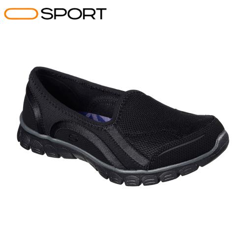 کفش پیاده روی زنانه اسکیچرز   Skechers Women's EZ Flex 3.0 Aroundtown Slip On Black