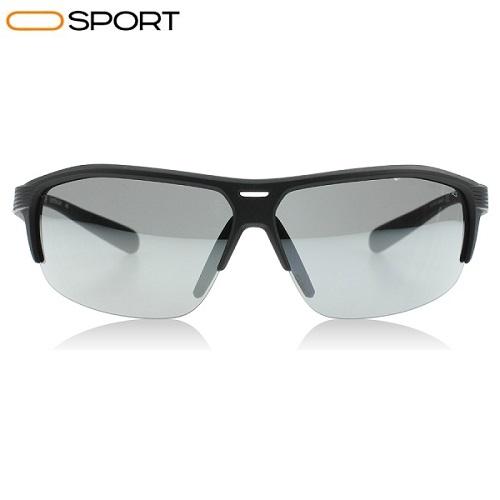 عینک آفتابی ران نایک مشکی nike run x2 sunglasses matte black grey with silver flash mirror nk ev0796 047 1