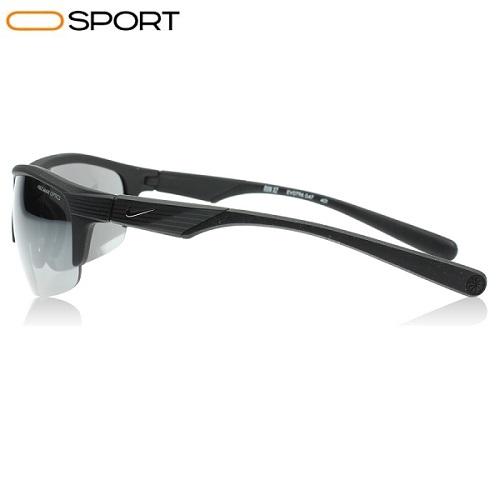 عینک آفتابی ران نایک مشکی nike run x2 sunglasses matte black grey with silver flash mirror nk ev0796 047 3