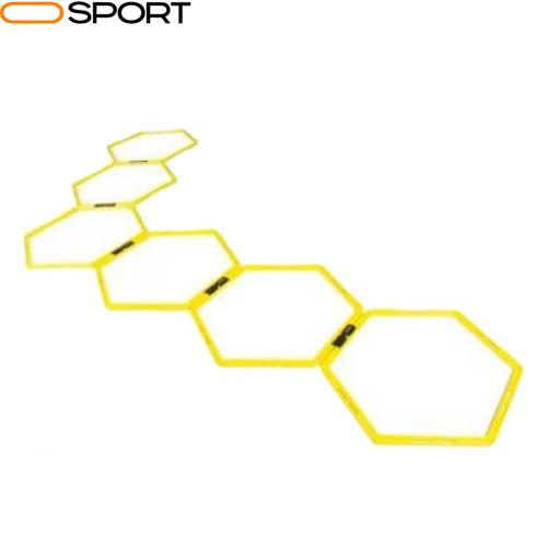 نردبان چابکی شش ضلعی نیشن فیتنس مدل Hexagon