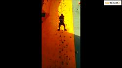 چالش از دیوار راست برو بالا rezakazemimba