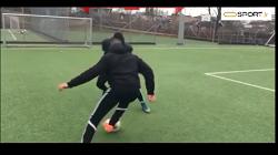 پنج مهارت فوتبال در مقابل مدافعان