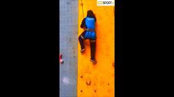 چالش از دیوار راست برو بالا samane.zamani