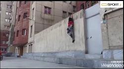 چالش از دیوار راست برو بالا! niloo_moqaddam