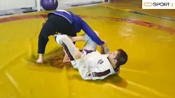 آموزش حرکت دلاریوا گارد (de la riva guard) - جوجیتسو برزیلی
