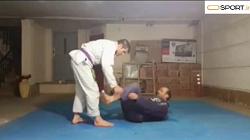 آموزش حرکت نی بار- جوجیتسو برزیلی