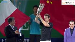 خلاصه مسابقه فینال تنیس شانگهای 2016،  اندی ماری - باتیستا آخوت