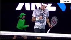 خلاصه بازی راجر فدرر - میشا زورف (یک چهارم نهایی تنیس اوپن استرالیا2017)