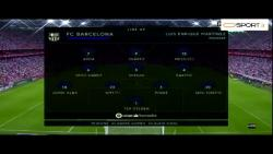 گل های بازی بارسلونا مقابل اتلتیک بیلبائو