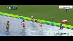 دالیله محمد اولین زن بود که مدال طلای 400 متر را به دست آورد