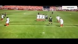 ضربه آزاد فوق العاده گرت بیل در بازی ولز مقابل انگلستان EURO 2016